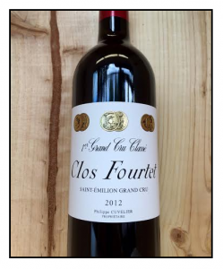 Clos Fourtet, Saint-Emilion Grand Cru 2012