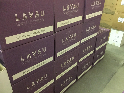 lots of lavau rhone
