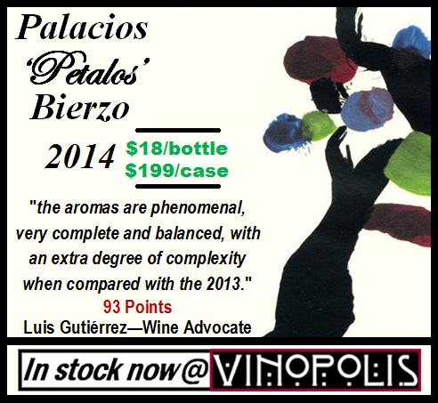 Palacios Petalos Bierzo 2014