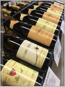 zind humbrecht wines on rack