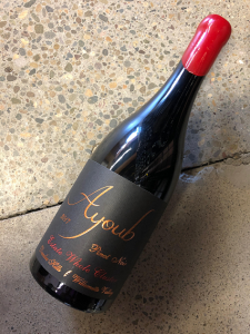 ayoub estate whole cluster pinot