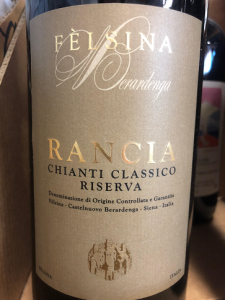 Felsina Rancia bottle
