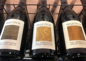 Sequitur wine bottles